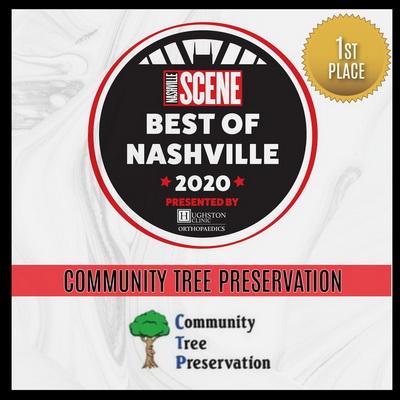 Nashville tree care company award